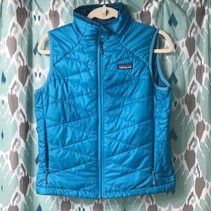 Patagonia Synthetic Fill Vest in Turquoise